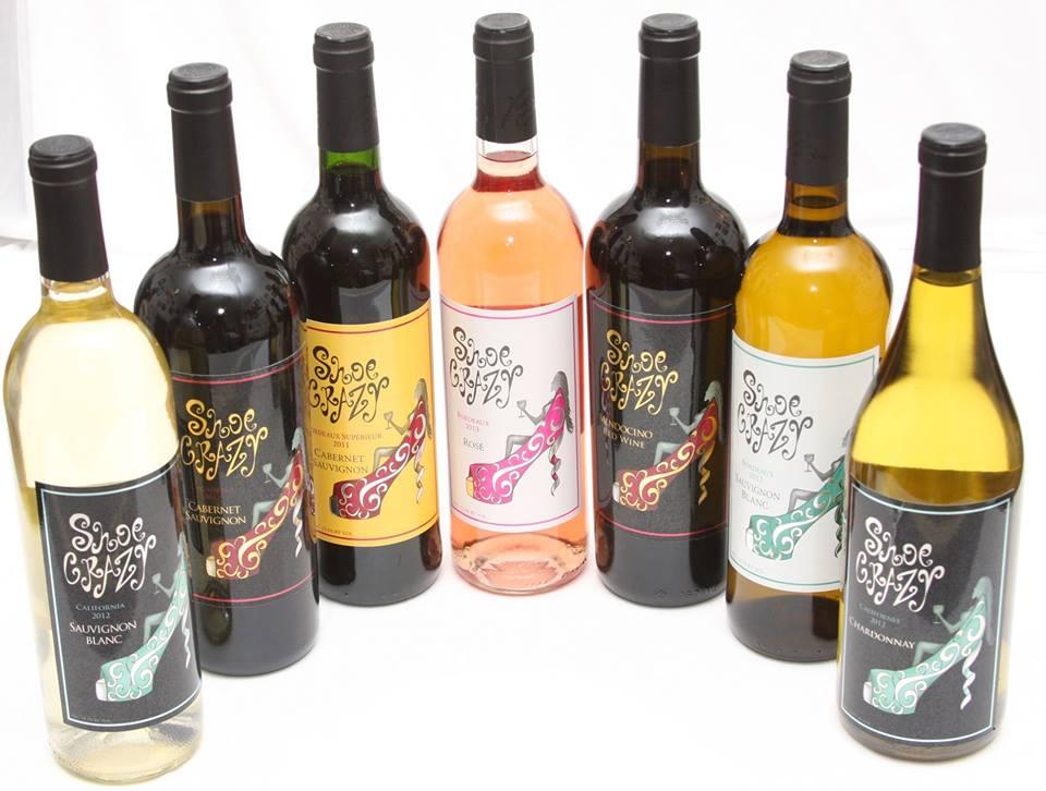 Shoe Crazy Wine2