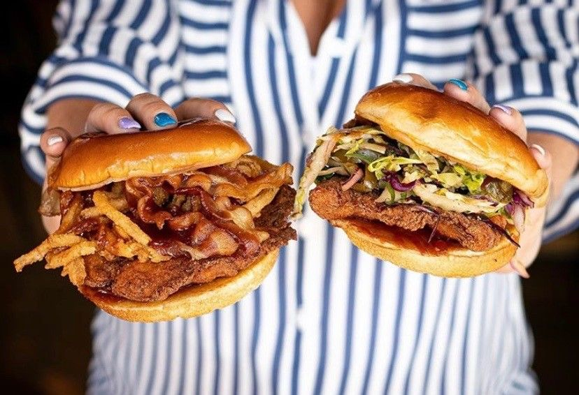 black owned restaurant big chicken shaq